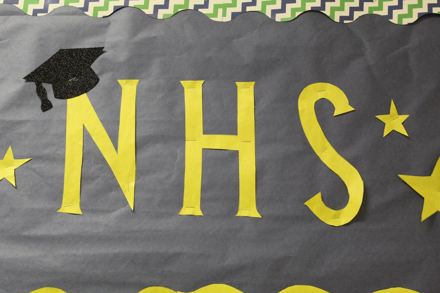 The National Honors Society accepted and inducted new members earlier this year.