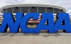 The NCAA, National Collegiate Athletic Association, is changing its rules to possibly allow athletes to have financial opportunities through their name, likeness, or image.  STREETER LECKA/GETTY IMAGES