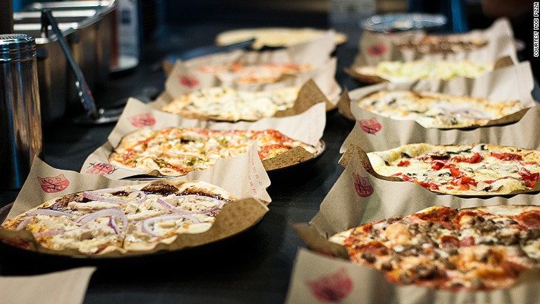 Image courtesy of MOD pizza.