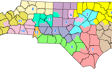 NC Congressional Districts Declared Unconstitutional