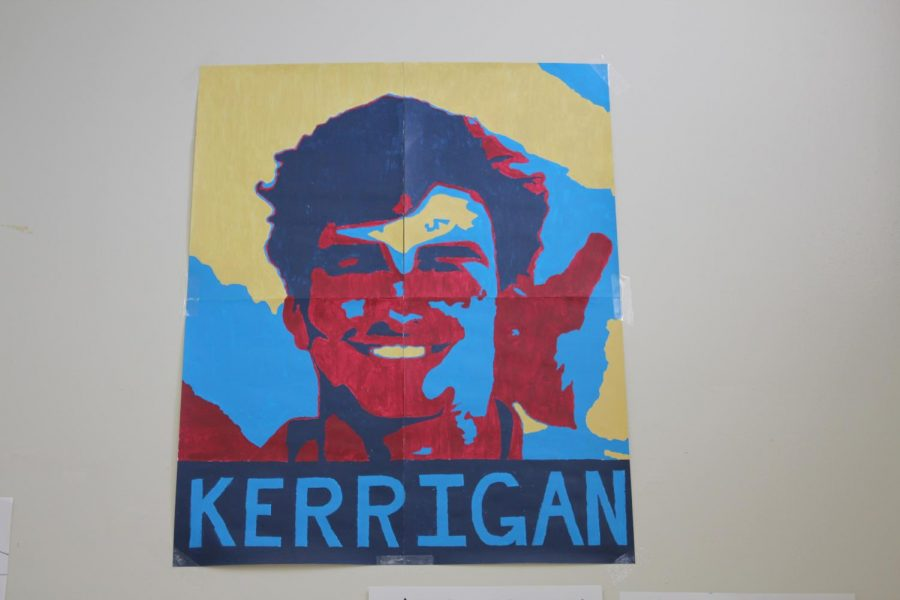 Senior+Malachy+Kerrigan+is+running+for+Senior+Class+President.