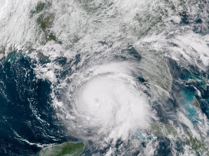 Hurricane+Michael+Strikes