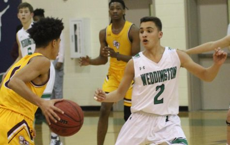 Weddington Men's Basketball Pushes Hard To Finish Out Their Regular Season Strongly – Relying Heavily On Young Underclassmen Talent.