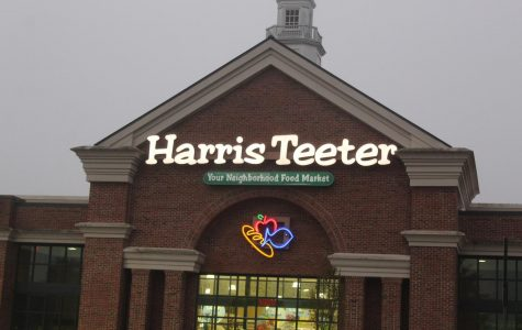 Junior Andrew Page has worked at Weddington's local Harris Teeter for several months now. The store has become populated across the county by Weddington students who want some extra pocket money.