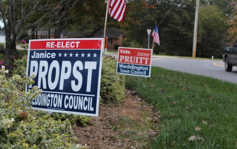 Changing Weather and Changing Seats: The Weddington Town Council Election