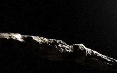 Illustration of 'Oumuamua