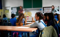 The NYC schooling system has been proven faulty, but the Brilliant NYC program is receiving mixed feedback. (Photo by INA FASSBENDER/AFP via Getty Images)